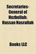 Secretaries-General of Hezbollah: Hassan Nasrallah
