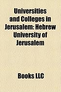 Universities and Colleges in Jerusalem: Hebrew University of Jerusalem