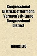 Congressional Districts of Vermont: Vermont's At-Large Congressional District