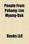 People from Pohang: Lee Myung-Bak