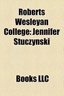 Roberts Wesleyan College: Jennifer Stuczynski