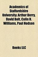 Academics of Staffordshire University: Arthur Berry