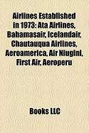 Airlines Established in 1973: Ata Airlines