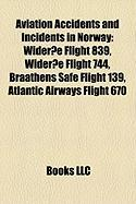 Aviation Accidents and Incidents in Norway: Wideroe Flight 839
