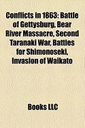 Conflicts in 1863: Battle of Gettysburg