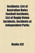 Incidents: List of Australian Rules Football Incidents
