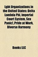 Lgbt Organizations in the United States: Delta Lambda Phi