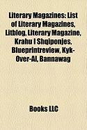 Literary Magazines: List of Literary Magazines