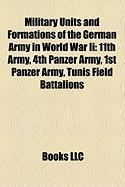 Military Units and Formations of the German Army in World War II: 11th Army