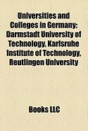 Universities and Colleges in Germany: Darmstadt University of Technology