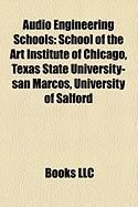Audio Engineering Schools: Texas State University-San Marcos