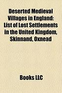 Deserted Medieval Villages in England: List of Lost Settlements in the United Kingdom, Skinnand, Oxnead