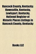 Hancock County, Kentucky: Hawesville, Kentucky, Lewisport, Kentucky, National Register of Historic Places Listings in Hancock County, Kentucky