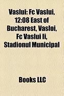 Vaslui: FC Vaslui, 12:08 East of Bucharest, Vasloi, FC Vaslui II, Stadionul Municipal