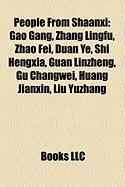 People from Shaanxi: Gao Gang, Zhang Lingfu, Zhao Fei, Duan Ye, Shi Hengxia, Guan Linzheng, Gu Changwei, Huang Jianxin, Liu Yuzhang