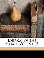 Journal of the Senate, Volume 25