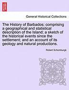 Schomburgk, R: History of Barbados; comprising a geographica