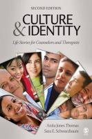 Culture & Identity: Life Stories for Counselors and Therapists