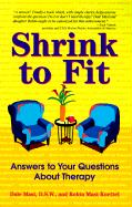 Shrink to Fit: Customize and Personalize Your Therapy, So It Works for You