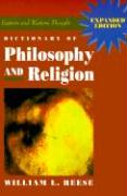 Dictionary of Philosophy and Religion William L. Reese Author