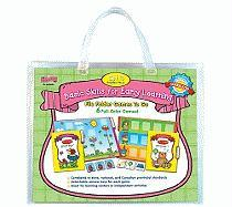 Basic Skills for Early Learning Set 3 File Folder Games to Go - Inkers, Dj