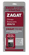 Zagat to Go Pack: Chicago Restaurants [With One-Year Membership to Zagat to Go]