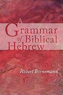 A Grammar of Biblical Hebrew Robert Bornemann Author