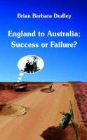 England to Australia - Success or Failure