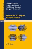 Symmetries of Compact Riemann Surfaces