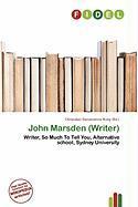 John Marsden (Writer)