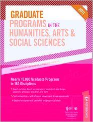 Peterson's Graduate Programs in the Humanities, Arts & Social Sciences