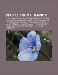 People From Chemnitz - Books Llc