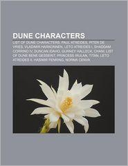 Dune Characters - Books Llc