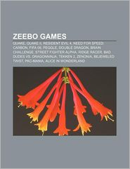 Zeebo games: Quake, Quake II, Resident Evil 4, Need for Speed: Carbon, FIFA 09, Peggle, Double Dragon, Brain Challenge, Street Fighter Alpha - Source: Wikipedia