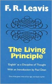 Living Principle: English as a Discipline of Thought
