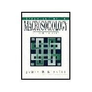 Introduction to Macrosociology - Russell, James D.
