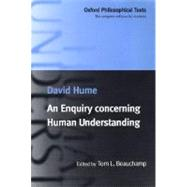 An Enquiry Concerning Human Understanding - Hume, David; Beauchamp, Tom L.
