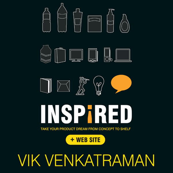 Inspired!: Take Your Product Dream from Concept to Shelf , Hörbuch, Digital, 1, 588min - Vik Venkatraman