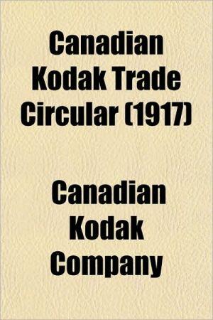 Canadian Kodak Trade Circular