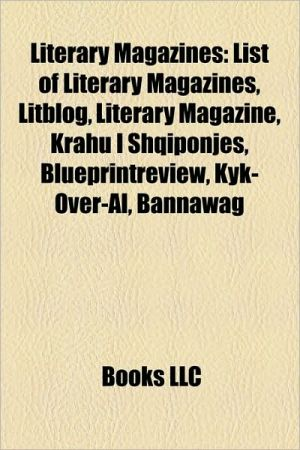 Literary magazines: Canadian Literature, List of literary magazines, Hermes o Logios, Portfolio: An Intercontinental Quarterly, Metronome