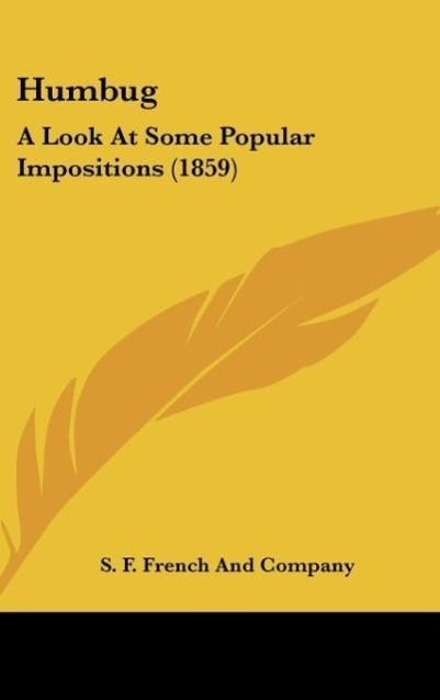 Humbug als Buch von S. F. French And Company - S. F. French And Company