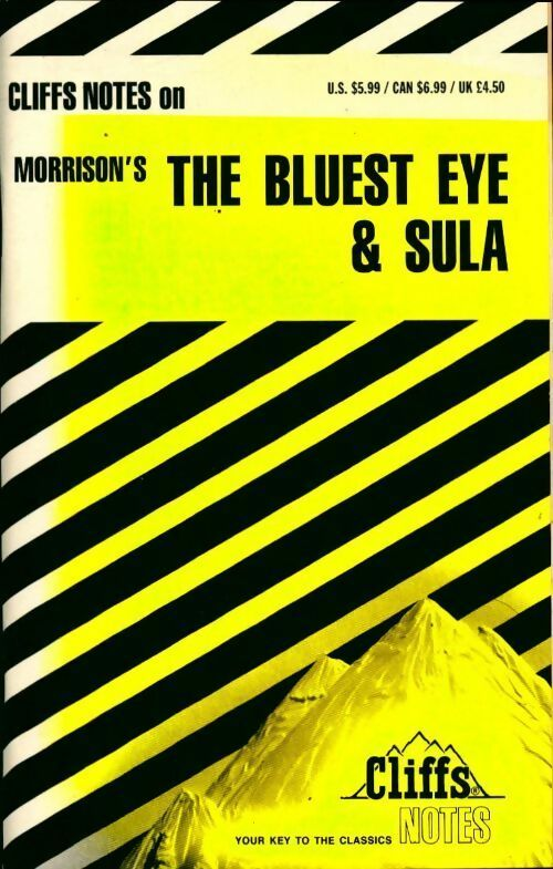 Cliffsnotes on Morrison's the bluest Eye & Sula - Louisa S. Nye