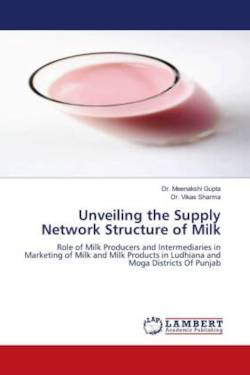 Unveiling the Supply Network Structure of Milk